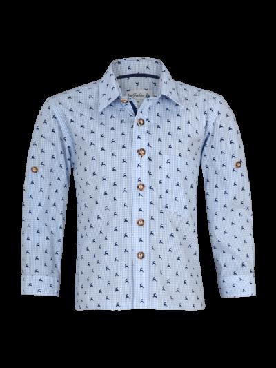Hemd in hellblau