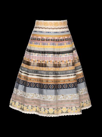"""Classic Ribbon Skirt in """"Lumiere"""" von Lena Hoschek"""