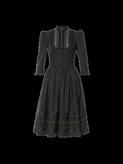 Kleid Hanni in wintermärchen von Lena Hoschek