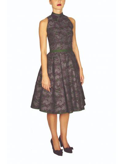 Kleid 11T040 in isabella/zeder